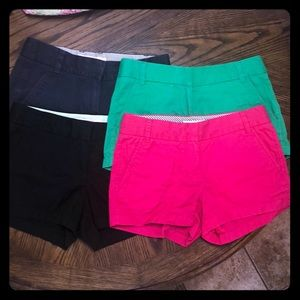 J Crew Factory shorts size 0
